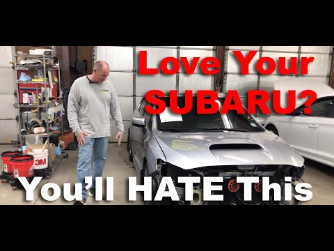 Subaru Lovers Will Hate To See This Disgraceful Subaru Collision Repair We Found!