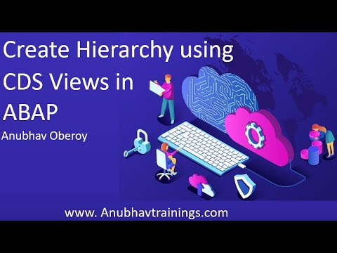 ABAP CDS Hierarchy | End to End CDS Hierarchy on Fiori App - YouTube