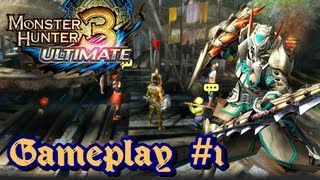Monster Hunter 3 Ultimate Wii U/3DS - (1080p) Gameplay Part 1