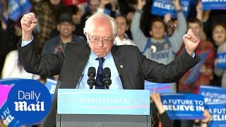 Bernie Sanders sweeps to victory in Alaska and Washington - Daily Mail