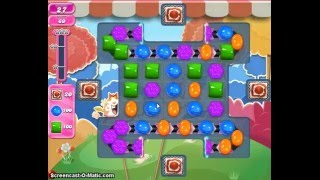 Candy Crush Saga Level 1696 No Boosters