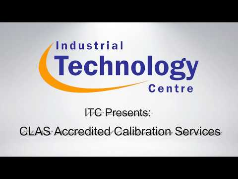 Calibration - Industrial Technology Centre