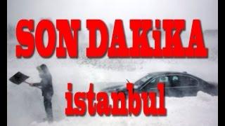 Son Dakika İstanbul Kar Fırtınası Havalimanı(son dakika)