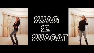 Swag Se Swagat Song | Tiger Zinda Hai | Madhusree Prakash | Dance Choreography