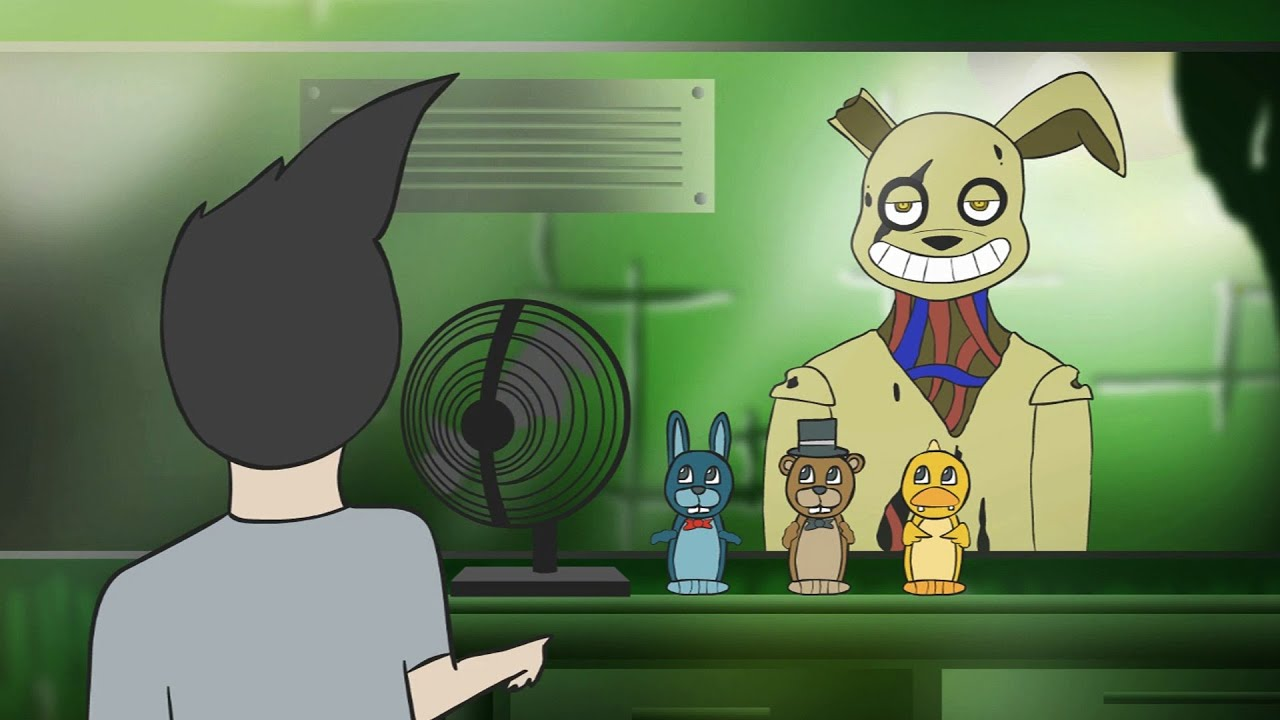 Five Nights at Freddy's 3 ANIMATED