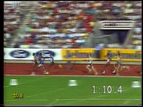 Johnny Gray, 1.42.65, Zúrich 17-8-1988