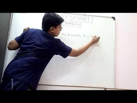 How to derive the formula F=ma