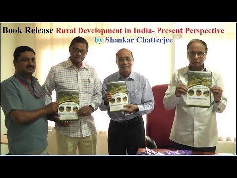 Book Release of Rural Development in India Present Perspective By Dr Sha...
