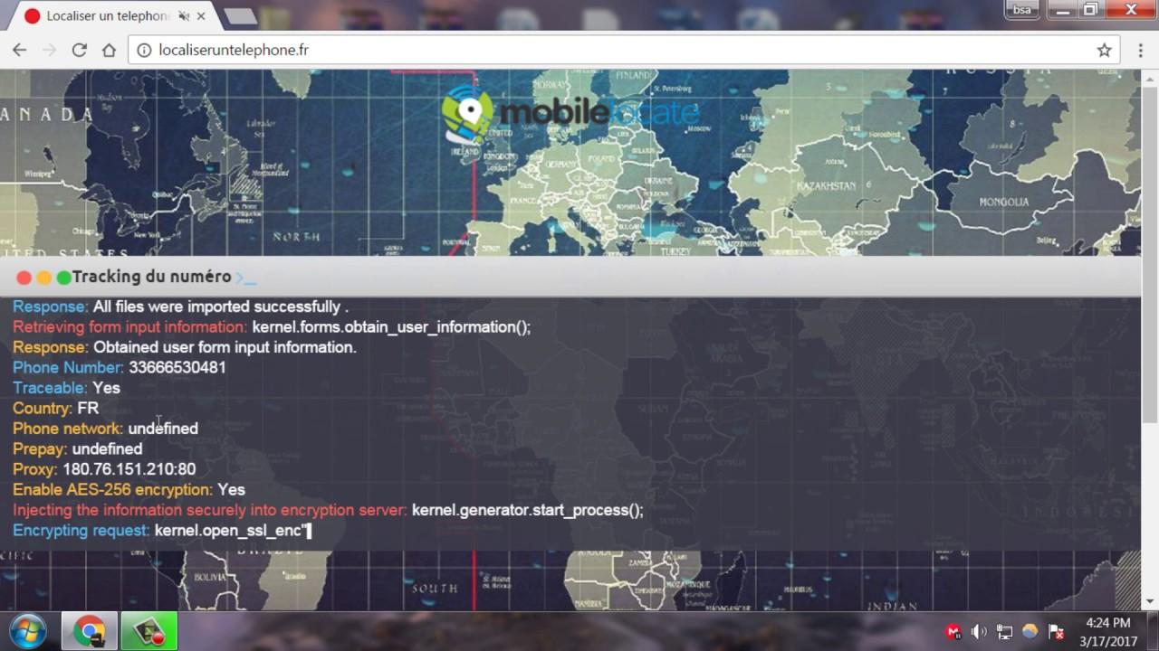 Comment Geolocaliser Un Portable Gratuitement Youtube