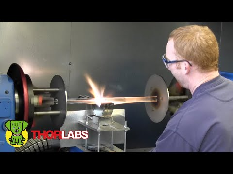 Thorlabs Specialty Optical Fiber Manufacturing