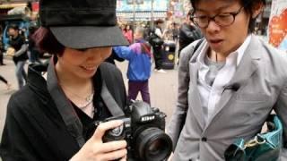 Pro Camera, Noob Photographer (Model shoots a Nikon D3S)
