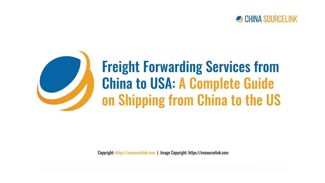 Shipping from China to US | Air Freight Shipping from China to USA
