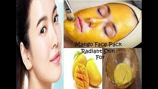 Mango बना देगा आपको चांद सा गोरा इन गर्मियों में लगाएं ये Pack/Instant Radiant Skin With Mango Pack