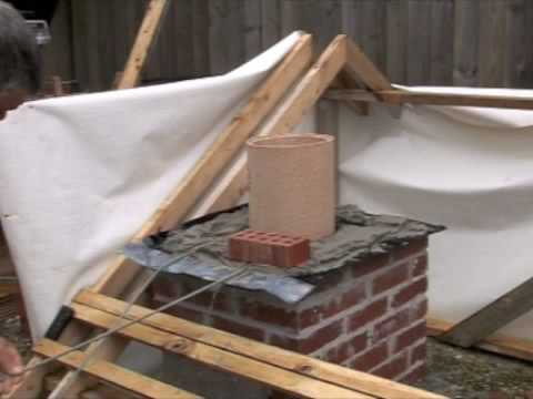 Chimney Flashing Fitting Lead Dpc Tray Youtube