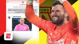 Watford goalkeeper ben foster talks exclusively to espn fc about his career so far and how love for cycling has led him becoming a r. te...