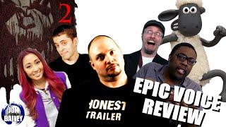 SINISTER 2 & MORE w/NOSTALGIA CRITIC, BLACK NERD & SMOSH GAMES (Epic Voice Review)