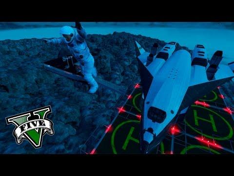 GTA V Editor De Mapas - EL PRIMER VIAJE A LA LUNA EN GTA 5 !! OMG !! - ElChurches