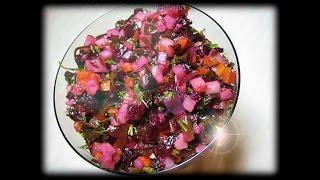 Как приготовить винегрет с морской капустой. Рецепт - вкусно и очень просто!