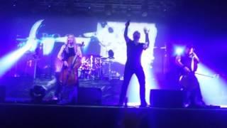 Apocalyptica - I Don`t Care (Franky Perez). Kiev. 1/12/15