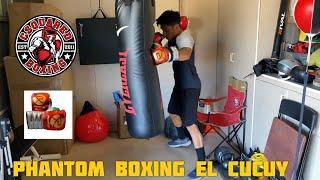 HEAVY BAG TRAINING- Phantom Boxing El Cucuy Sparring Gloves