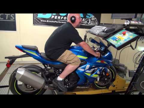 2017 GSX-R1K S2B: Episode 2 -  Initial Dyno Break-In with Chart
