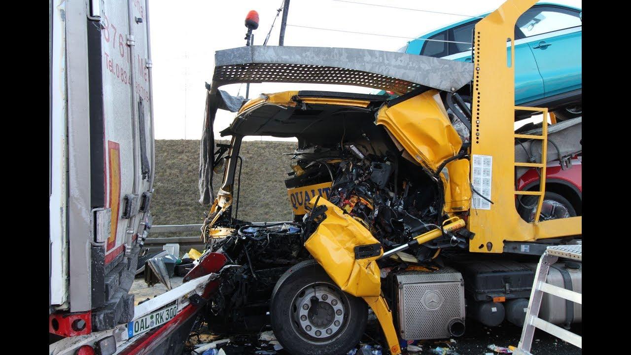 13022018 1 Toter Schrecklicher Verkehrsunfall Auf Der A3 Bei