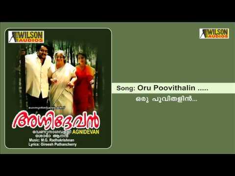 Oru Poovithalin - Agnidevan
