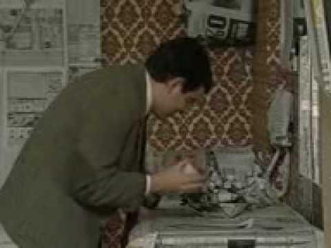 Mr Bean Beim Streichen