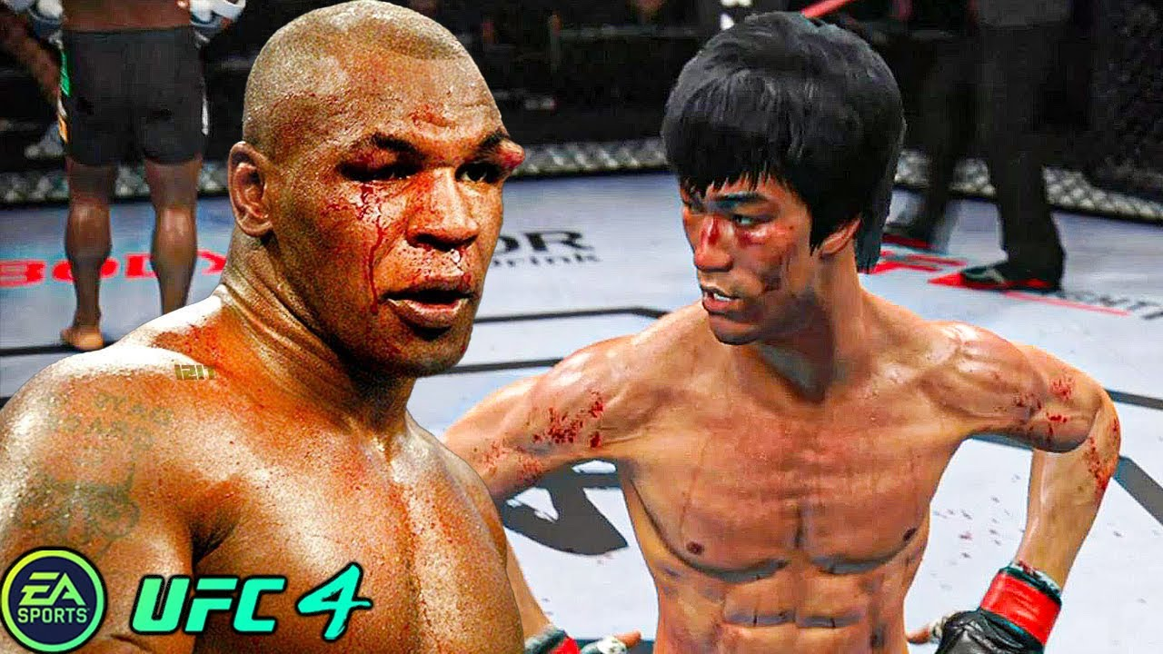 Download UFC 4 | Bruce Lee VS Mike Tyson |  EA SPORTS UFC 4