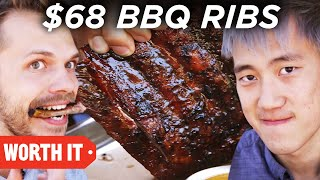 Video $7 BBQ Ribs Vs. $68 BBQ Ribs download MP3, 3GP, MP4, WEBM, AVI, FLV Februari 2018