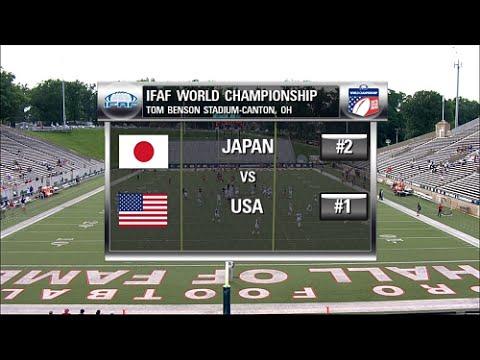 #1 USA vs #2 Japan IFAF World Championship