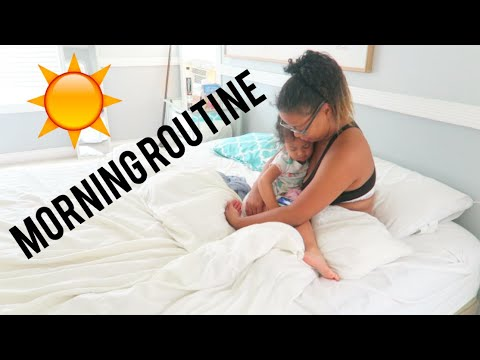 Working Single Mom Morning Routine! Night shift edition!  2018