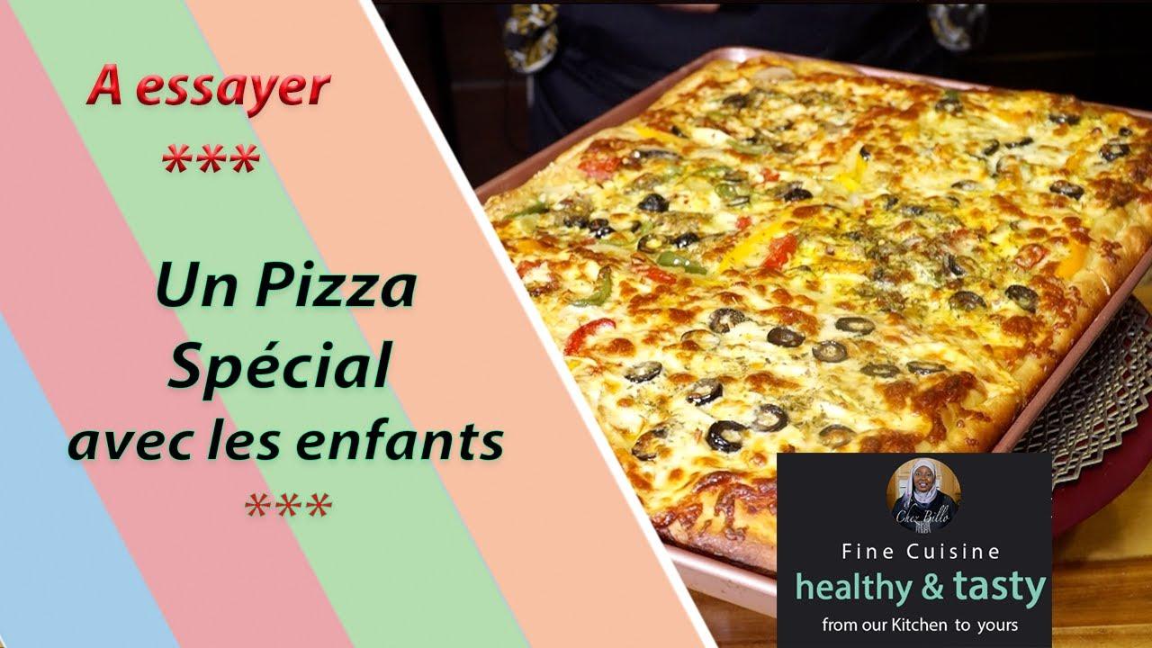 Un Pizza Spécial avec les enfants