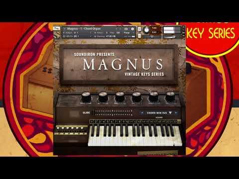 Soundiron  - Magnus Chord Organ Walk-Through