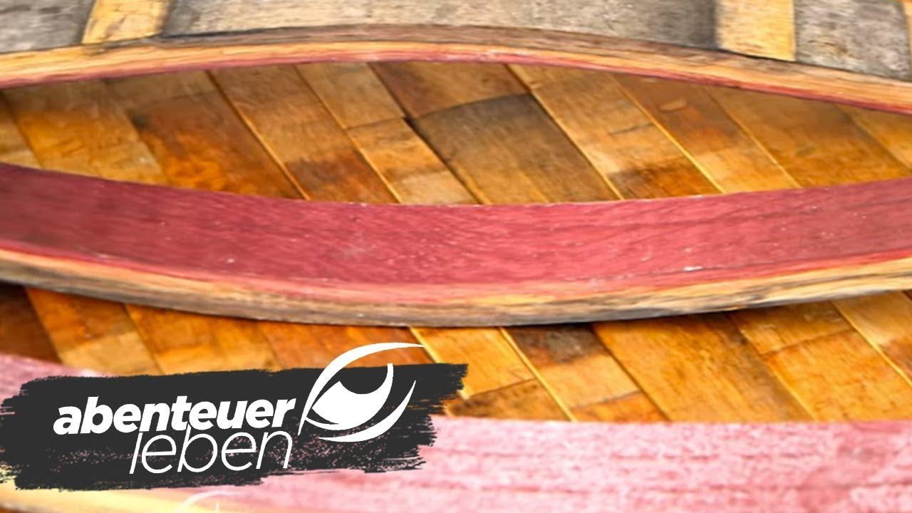 Fußboden Aus Alten Weinfässern ~ Parkett aus alten weinfässern abenteuer leben kabel eins youtube