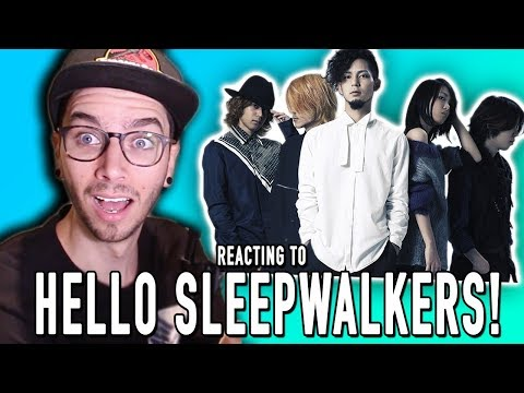 REACTING TO HELLO SLEEPWALKERS!!!