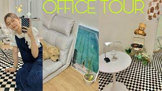 첫 자취(?)첫 사무실6평 원룸 office tour원…