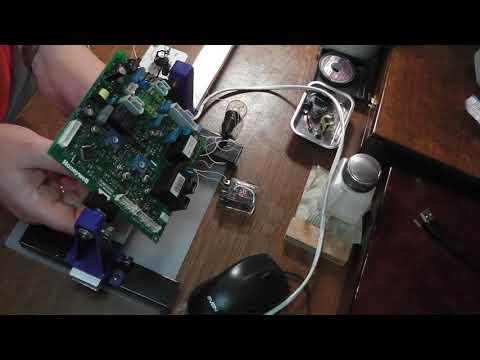 Ремонт платы DBM01A от котла Ferroli Domiproject