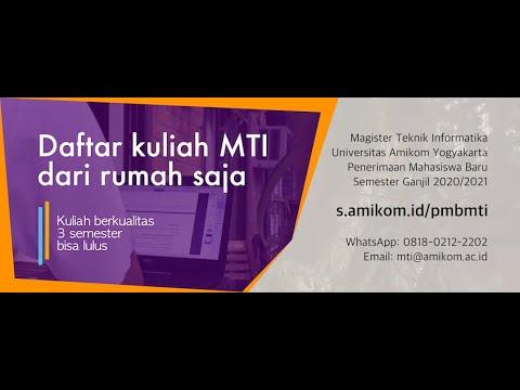 Program Studi S2 Teknik Informatika (MTI) AMIKOM Yogyakarta