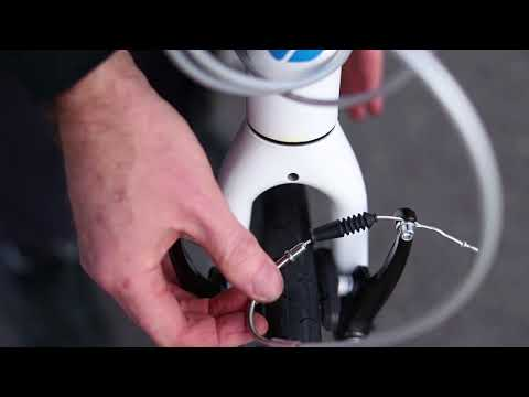 How To Release And Reconnect Bicycle V-Brakes  | Tech Tip | Tredz Bikes thumbnail