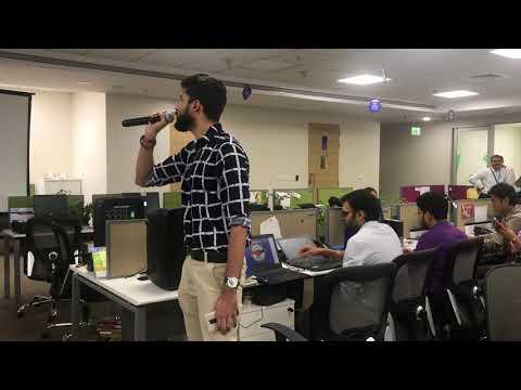 Main Rang Sharbaton Ka| Edelweiss Tokio Life Insurance|Karaoke event | Robin Pandita