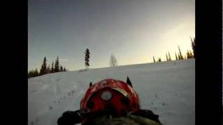 Polaris IQ 600 RR wheelies: GoPro HD Thumbnail