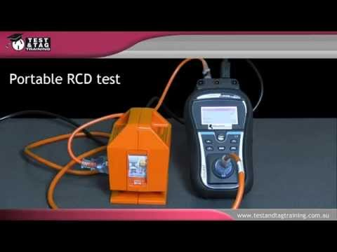 how to test a portable rcd youtube. Black Bedroom Furniture Sets. Home Design Ideas