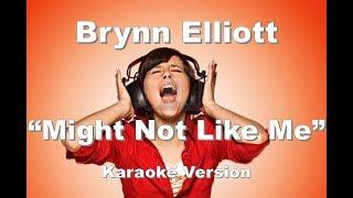 """Brynn Elliott """"Might Not Like Me"""" BackDrop Christian Karaoke"""