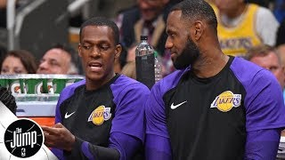 Lakers should take action after Rajon Rondo sat away from rest of team – Stan Van Gundy | The Jump