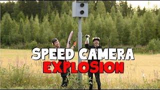 Speed Camera VS. DYNAMITE 1kg