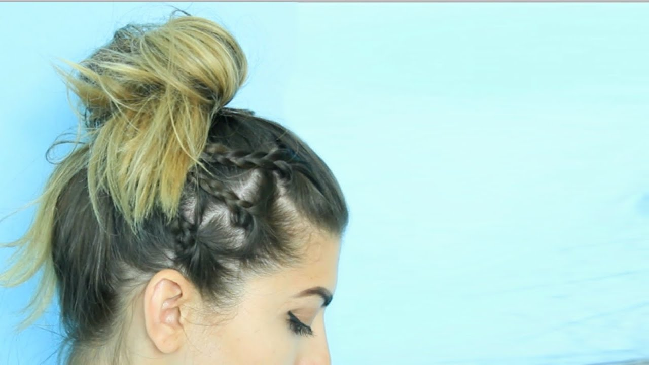 Easy Back To School Hairstyles! (Short or Long Hair) - YouTube