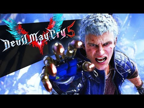ВРЕМЯ НАДИРАТЬ ЖОПЫ! - DEVIL MAY CRY 5 на Xbox One X первый впечатления Гагатуна