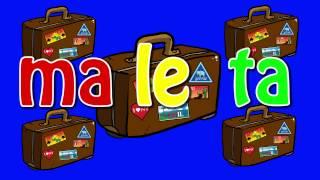 La maleta (animación) Cantando Aprendo a Hablar