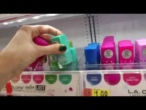 Walmart Nail Polish Organization (Part II)